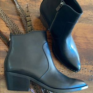 Patricia Nash Leather Ankle Boots-Suzanna 8 & 9